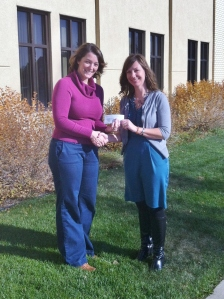 Nisswa Women of Today make donation to Bridges of Hope