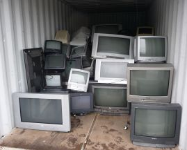 recycled televisions