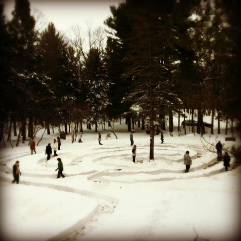 Staff & Board Retreat: Labyrinth