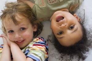 biracial children