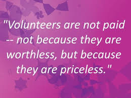 volunteersnot paid